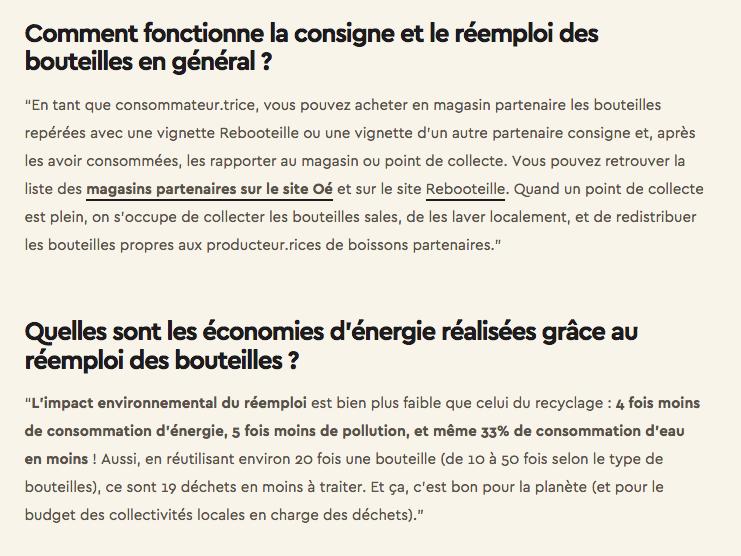 Article partenaire Oé - Réemploi bouteilles Page 3