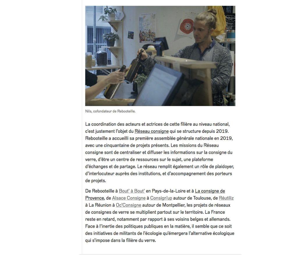 Article Reporterre sur Rebooteille - Page 5